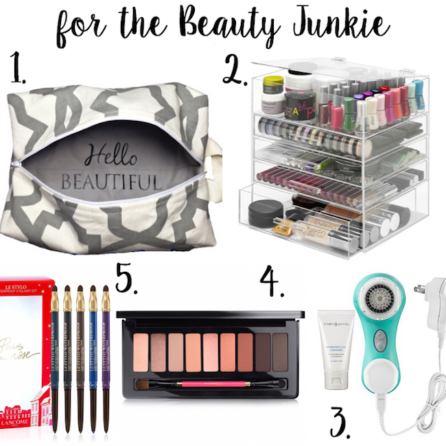 Great gift ideas for the beauty junkie!