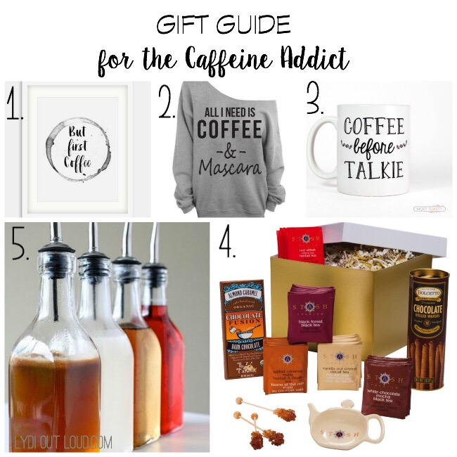 Gift Guide for the Caffeine Addict