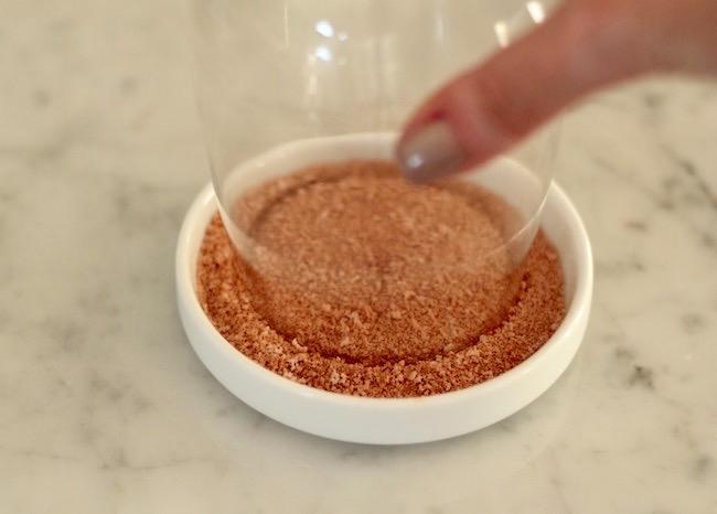 Cinnamon Stevia rim for Sangria