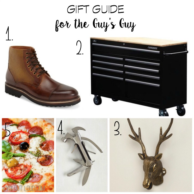 Gift Guide for the Guy's Guy