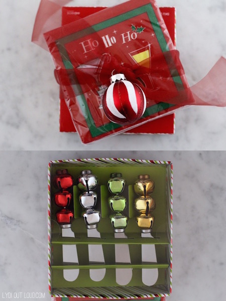 Napkins and appetizer spreaders - what a cute hostess gift idea!