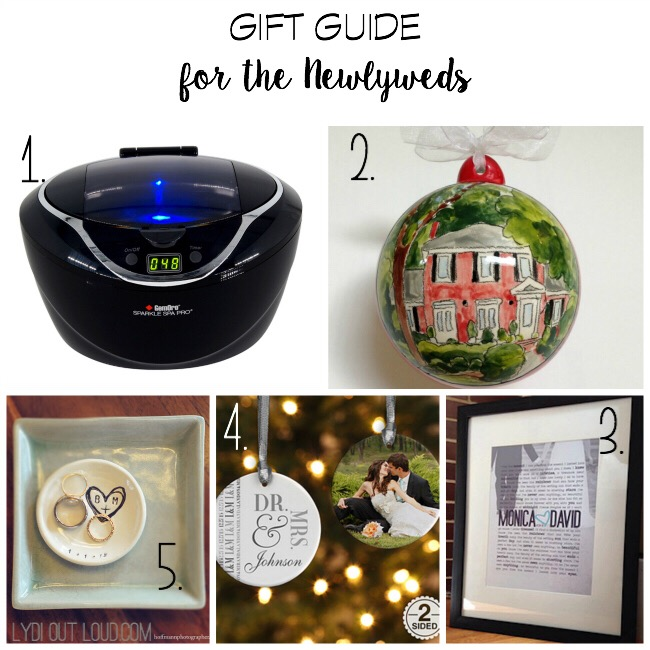 Gift Guide for the Newlyweds