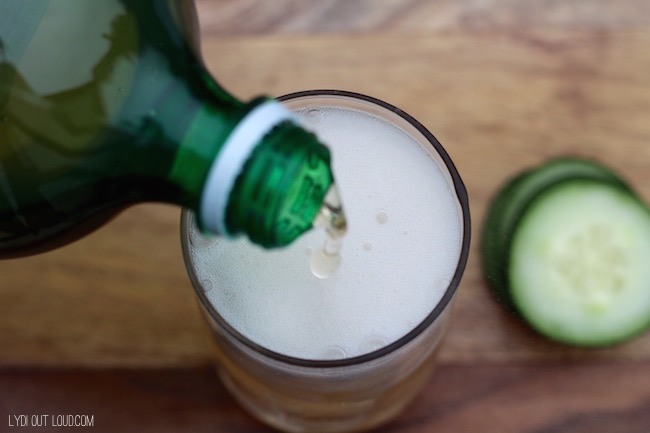 Cucumber Ginger Cocktail