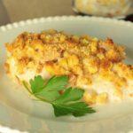 Delicious and healthy Chicken Corn Chowder Casserole