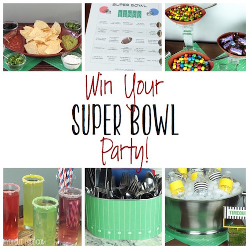 WIN YOUR SUPER BOWL PARTY