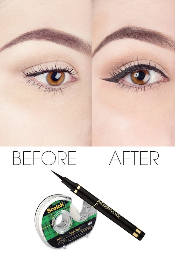 The most amazing trick for getting the perfect liner every time!