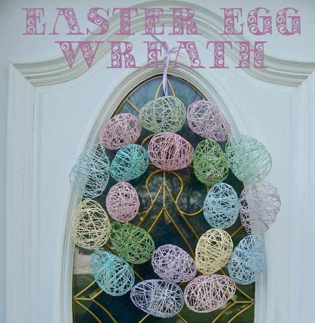 Easter egg wreath - this is the cutest one I've seen!