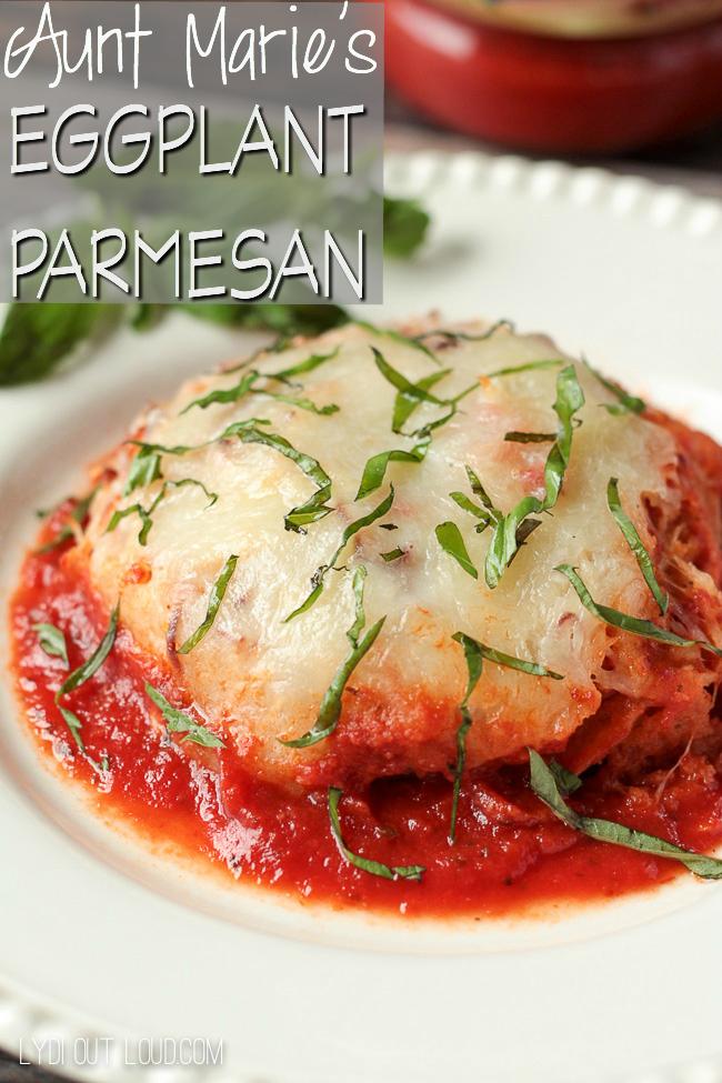 Eggplant Parmsan