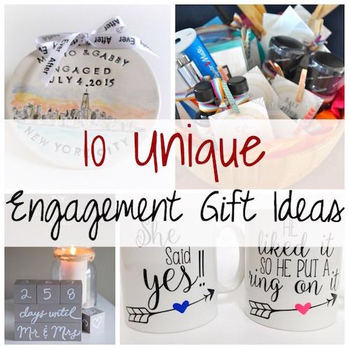 Unique Engagement Gift Ideas Lydi Out Loud