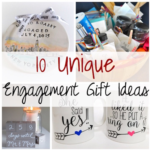 Unique Engagement Gifts: Unique Engagement Gift Ideas
