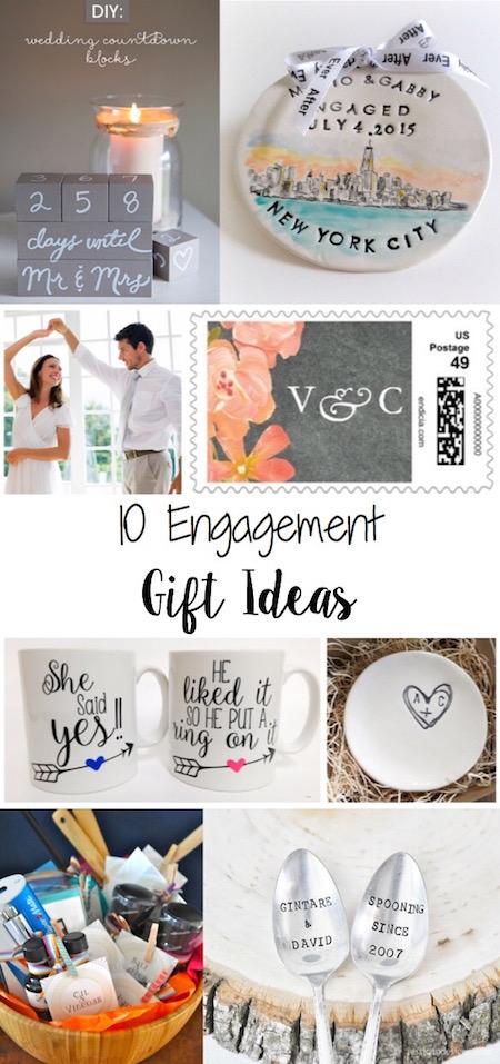 Unique Engagement Gift Ideas via @lydioutloud
