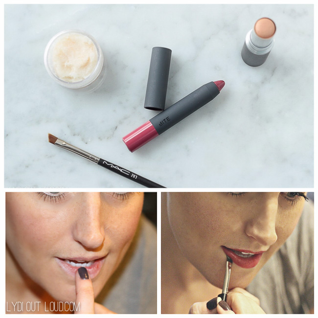 The best trick for nailing the perfect bold lip!