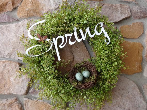 Spring Peppergrass Wreath