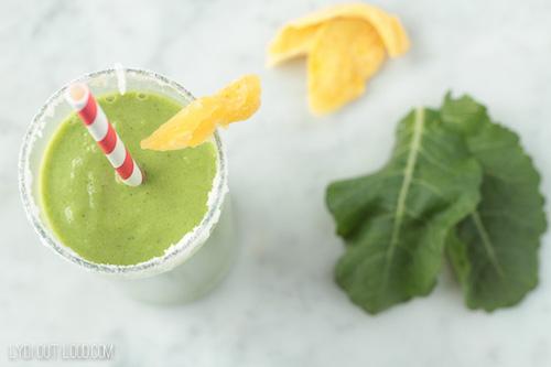 Tropi-Kale Green Smoothie