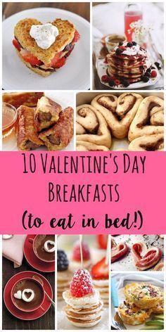 Valentine's Day Breakfast recipes via @lydioutloud