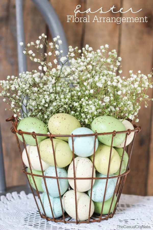 Beautiful Easter floral arrangement!