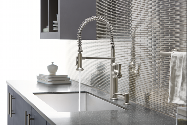 Kohler Sous Faucet - makes the kitchen feel like I'm a chef! :)