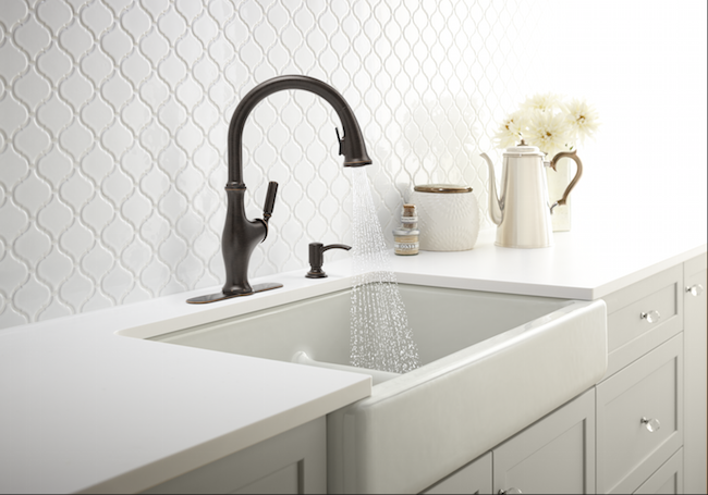 Kohler Worth Faucet in Rubbed Bronze