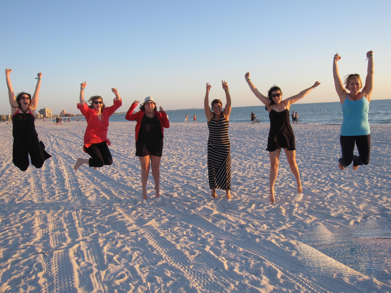 Beach weekend Bachelorette Party