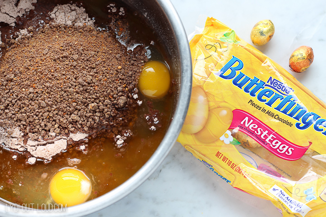 BUTTERFINGER® NestEggs Brownies