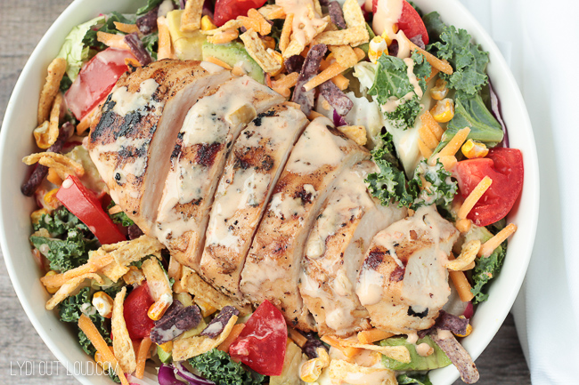 Tequila Lime Southwest Chicken Salad