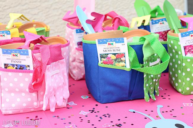 Kids Butterfly Garden Birthday Party