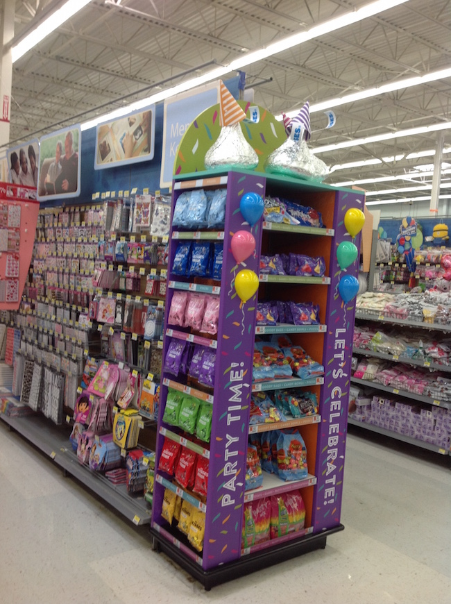 Hershey's Party Candy Aisle