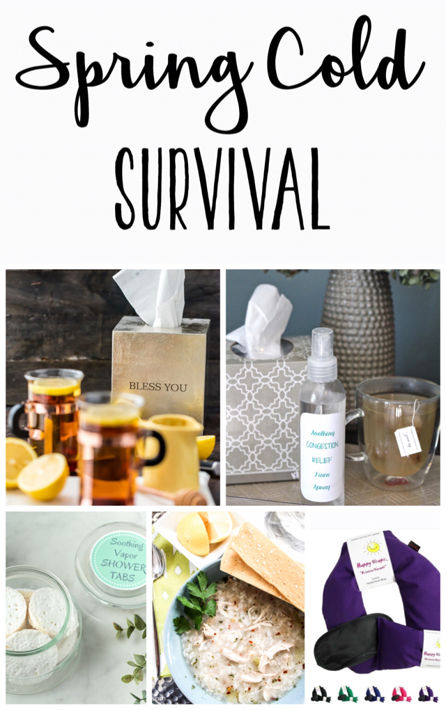 Essentials for spring cold survival!