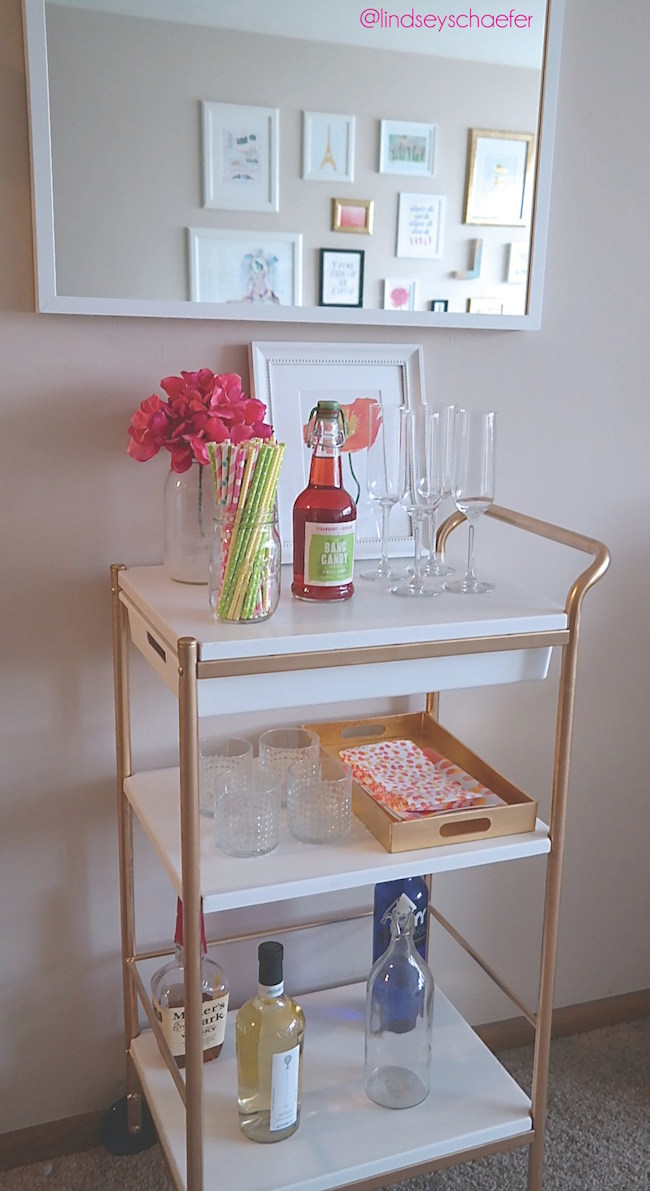 The Art Of The Bar Cart Lydi Out Loud
