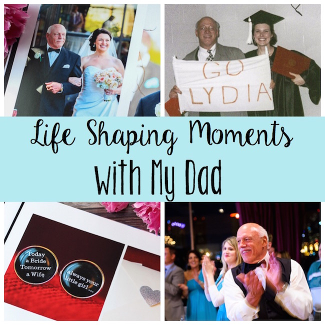 Great times with Dad - reflecting for Father's Day!