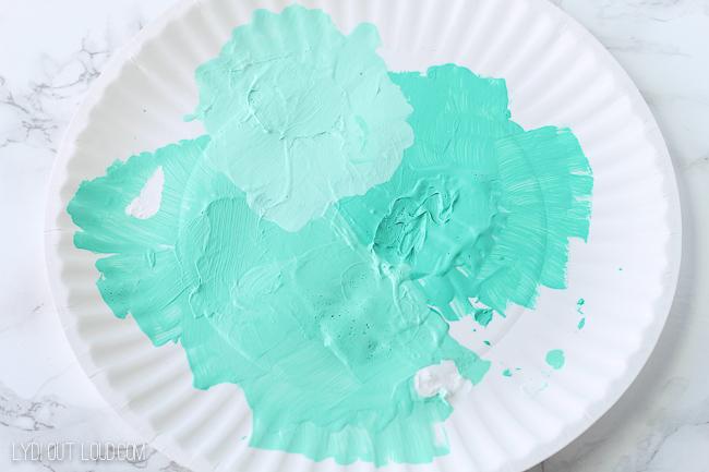 Ombre color palette