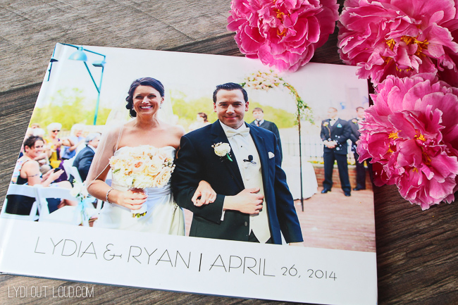 Snappish Wedding Album - so easy to upload and is a beautiful keepsake!