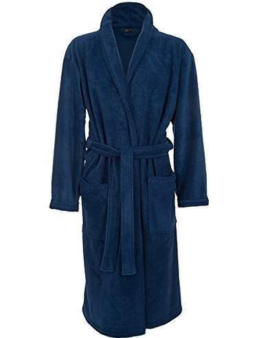 A cuddly fleece robe for a 2 year anniversary gift.