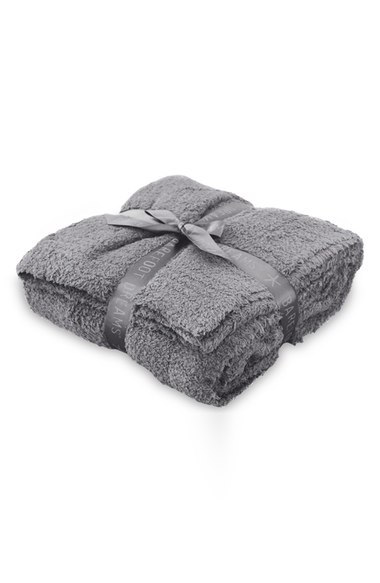 A snuggly throw would make a perfect 2 year anniversary gift!