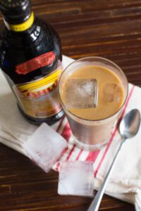 Kahlua Iced Coffee - out of this world!