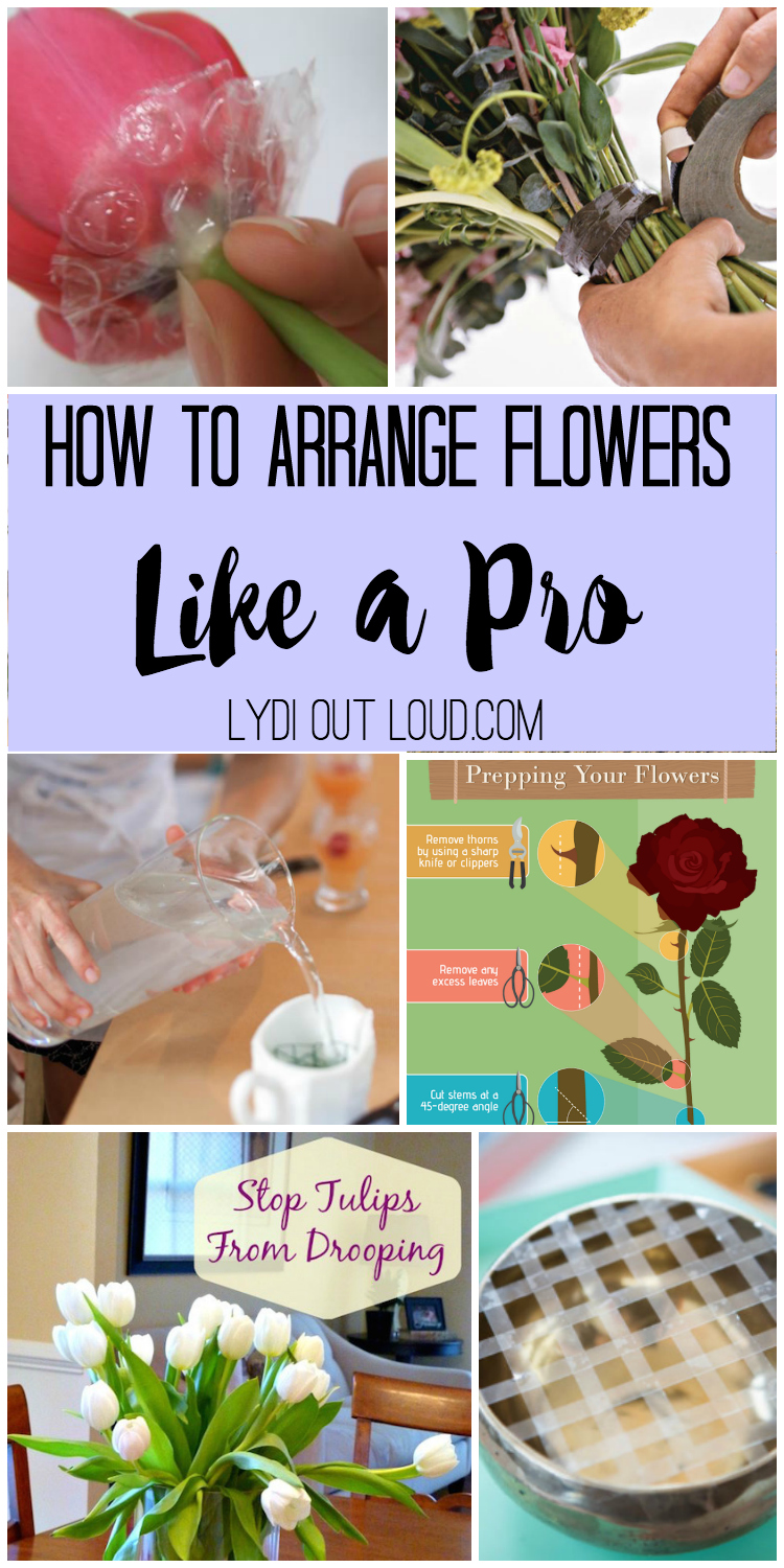 the friday find arrange flowers like a pro lydi out loud