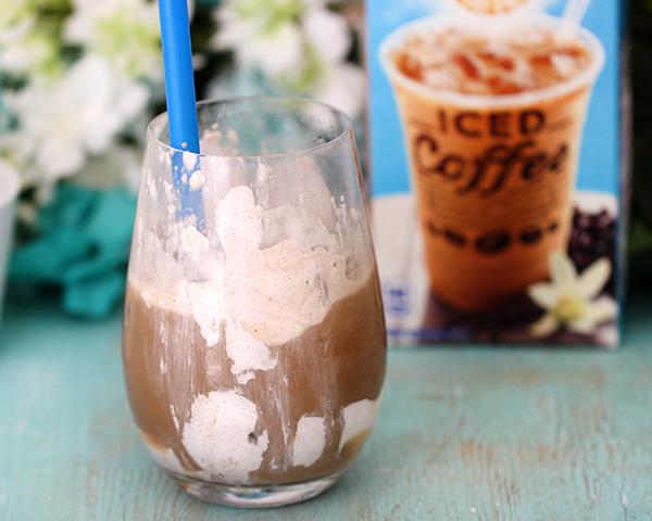 Cinnamon Vanilla Upside Down Iced Coffee