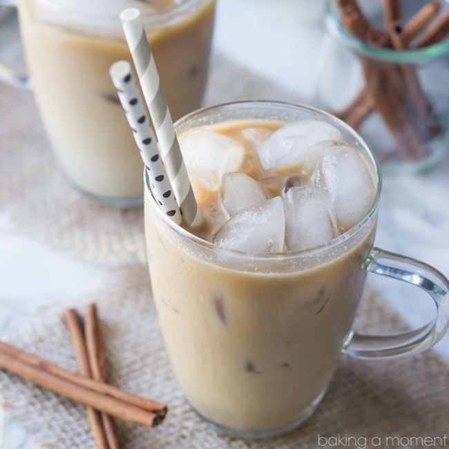 Delicious Coconut Horchata Iced Coffee