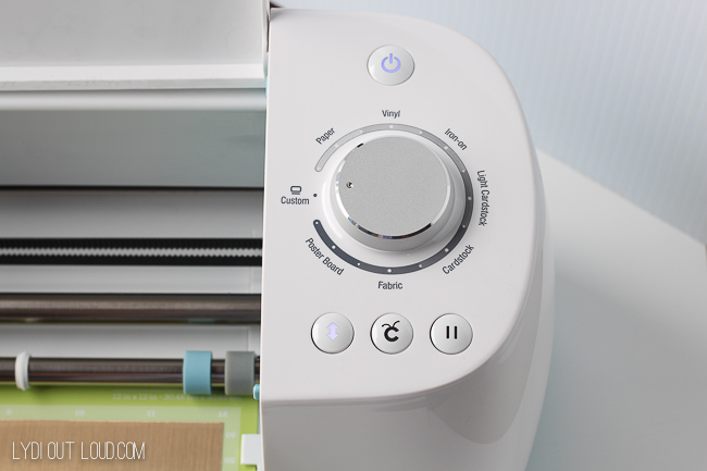 Adjustable Cricut settings