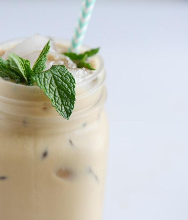 Fresh Mint Iced Coffee