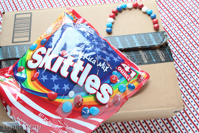 Skittles America Mix from Amazon Prime