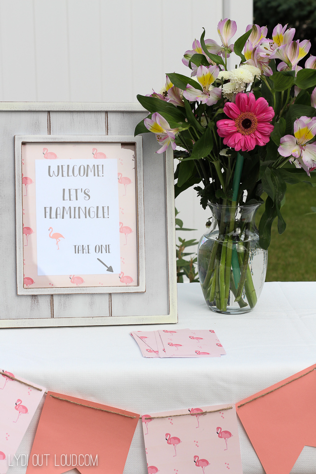 Welcome to the summer party sign!