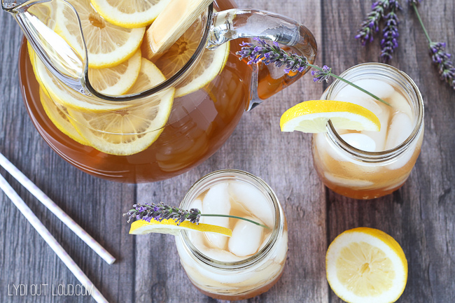 Yummy Lavender Arnold Palmers make the perfect summertime refreshment!