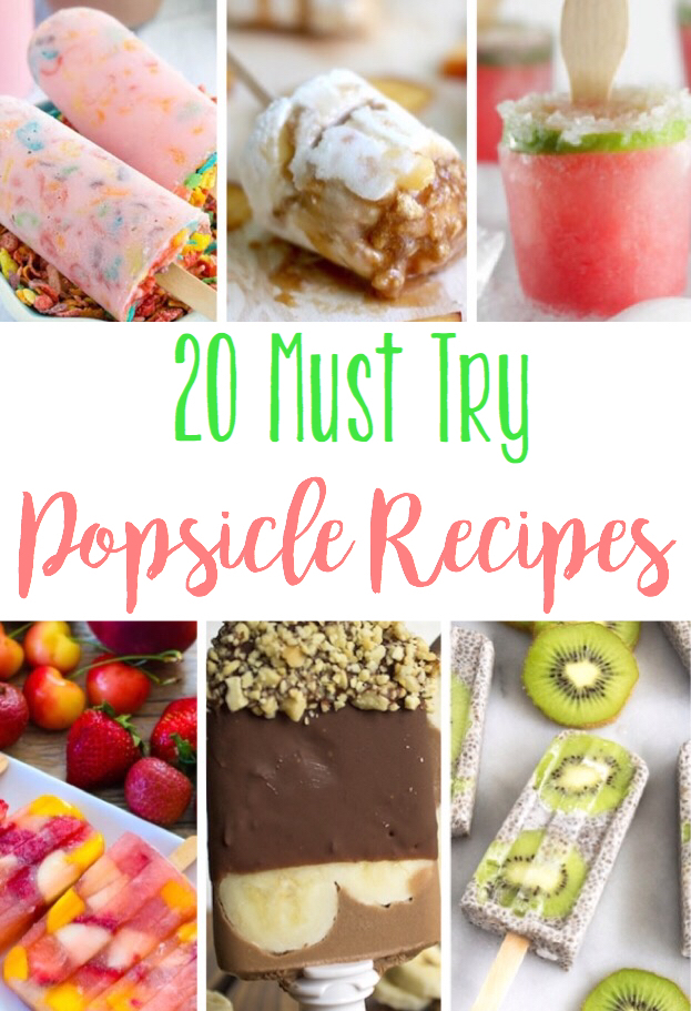 These are the best popsicle recipes that are a must for the summer! Some of them are even adult-style! ;)