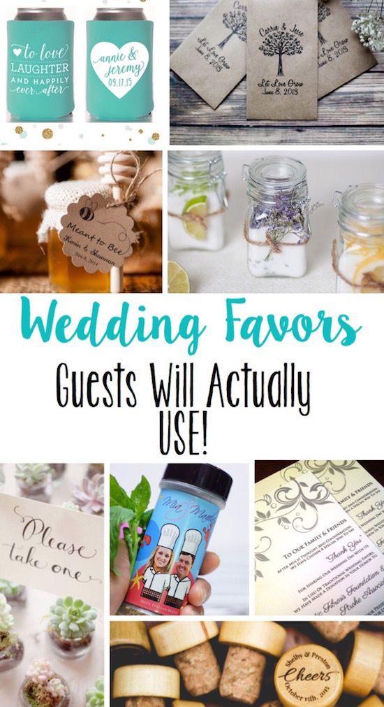 Wedding Favors guests will actually use! #weddingfavors #diyweddingideas #wedding via @lydioutloud
