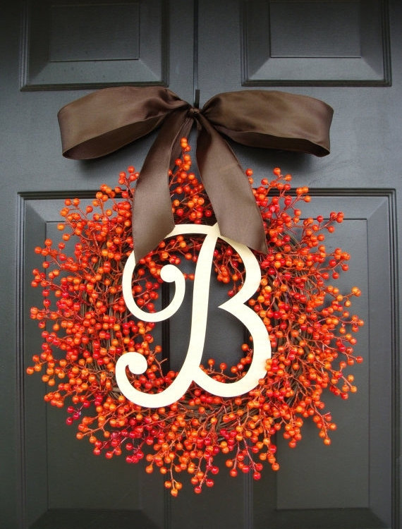 Fall Berry Monogram