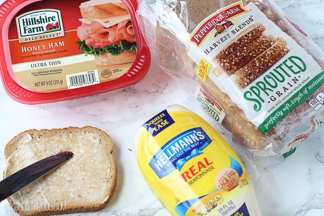 Ham & Gruyere Panini ingredients