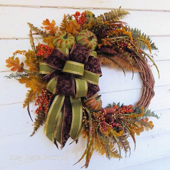 Harvest Bounty Wreath