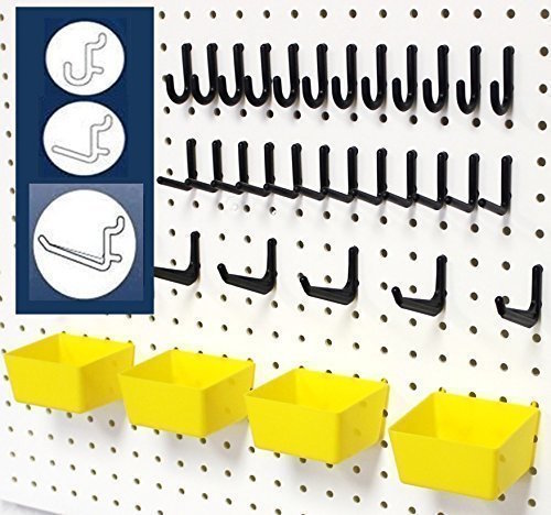 Pegboards make great organization solutions!
