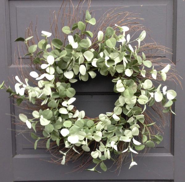 Silver Eucalyptus Wreath
